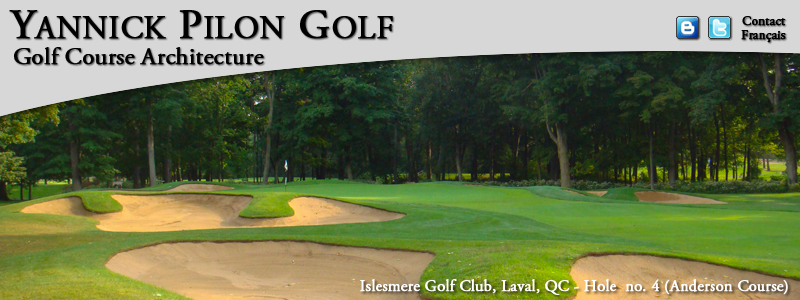 Yannick Pilon Golf - Home on